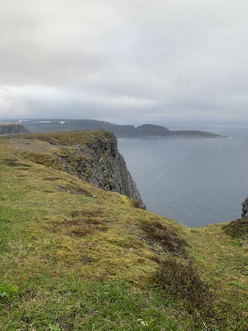 Nordkapp näkymä merelle